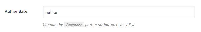 configurar base de autor