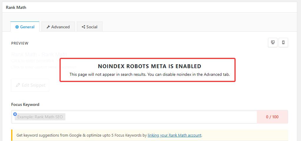 metacaixa de perfil de usuário desativada